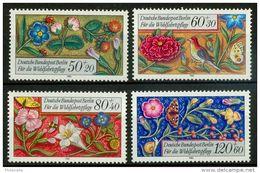 Berlino 1985 UN Serie N. 704-707 MNH Postfrisch Cat. € 9 - Ungebraucht