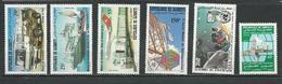 DJIBOUTI Scott 548-550, 547, C165, 557 Yvert 554-556, 553, PA171, 563 (6) ** Cote 8,00 $ 1982 - Djibouti (1977-...)