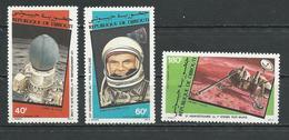 DJIBOUTI Scott C155-C157 Yvert PA161-PA163 (3) ** Cote 5,00 $ 1982 - Djibouti (1977-...)