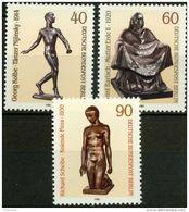 Berlino 1981 UN Serie N. 617-619 MNH Postfrisch Cat. € 2,60 - Ungebraucht