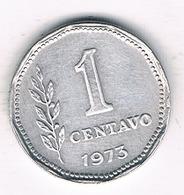 1 CENTAVO 1973 ARGENTINIE /2131G/ - Argentina