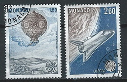 SS--286-. EUROPA 83 - N° 1365/66, De FEUILLE, DENT 13 X 13 - OBL.,  COTE 4.00 € ,  A SAISIR  , Liquidation - Oblitérés