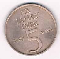 5 MARK 1969  A  DDR /DUITSLAND /2136G// - [ 6] 1949-1990 : RDA - Rep. Dem. Alemana