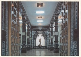 SABHA MANDAPAM IN VIVEKANANDA ROCK MEMORIAL, KANYAKUMARI. GREETWELL. INDIA.-TBE-BLEUP - India
