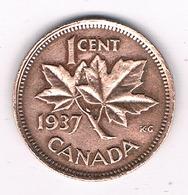 1 CENT 1937 CANADA .2140G/ - Canada