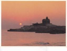 SUNRISE, KANYAKUMARI. GREETWELL. INDIA.-TBE-BLEUP - India