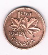 1 CENT 1942 CANADA .2141G/ - Canada
