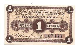 **notgeld Merseburg   1 Pf   Sodafabrik - [11] Local Banknote Issues