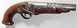 Pistolet Platine à La Miquelet - Armes Neutralisées