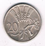 20 HALLER 1926 TSJECHOSLOWAKIJE /2145G/ - Czechoslovakia