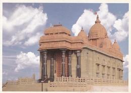VIVEKANANDA ROCK MEMORIAL, KANYAKUMARI. GREETWELL. INDIA.-TBE-BLEUP - India