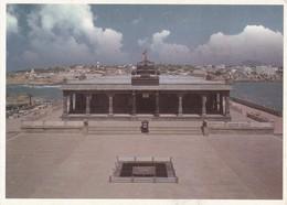 SRIPADA MANDAPAM IN VIVEKANANDA ROCK MEMORIAL, KANYAKUMARI. GREETWELL. INDIA.-TBE-BLEUP - India
