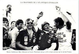 La Traversée De L'Atlantique En Ballon  En Aout 1978 - Maxie Anderson, Ben Abruzzo Et Larry Newman - Trois Aérostiers - Montgolfières
