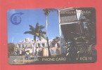 ANTIGUA & BARBUDA: ANT-1B EC $ 10 DEEP NOTCH Used (13.500ex) - Antigua And Barbuda