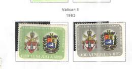 Venezuela PA 1963 Vaticano II°  Scott.829+830+ See Scans On Scott.Page - Venezuela