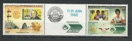 DJIBOUTI Scott C161a Yvert PA167a (2) ** Cote 4,50 $ 1982 - Djibouti (1977-...)
