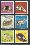 DJIBOUTI Scott 551-556 Yvert 557-562 (6) ** Cote 8,50 $ 1982 - Djibouti (1977-...)