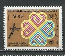 DJIBOUTI Scott 561 Yvert 567 (1) ** Cote 7,50 $ 1983 - Djibouti (1977-...)