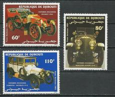 DJIBOUTI Scott C184-c186 Yvert PA190-PA192 (3) ** Cote 6,00 $ 1983 - Djibouti (1977-...)