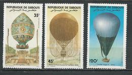 DJIBOUTI Scott C172-C174 Yvert PA178-PA180 (3) ** Cote 4,50 $ 1983 - Djibouti (1977-...)