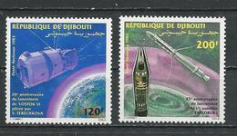 DJIBOUTI Scott C188-C189 Yvert PA193-PA194 (2) ** Cote 5,50 $ 1983 - Djibouti (1977-...)