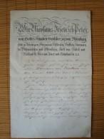 Grossherzogtum Oldenburg, Bestallung Zum Sekretär, Originall-Unterschrift Großherzog Nicolaus Friedrich Peter 1865 ! - Documenti Storici