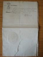 Grossherzogtum Oldenburg, Bestallung Zum Gerichtsactuar Original-Unterschrift Großherzog Peter Friedrich Ludwig 1814 !! - Documenti Storici