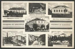 Kosovo-----Djakovica-----old Postcard - Kosovo