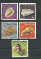 DJIBOUTI Scott 563-567 Yvert 569-573 (5) ** Cote 7,00 $ 1983 - Djibouti (1977-...)