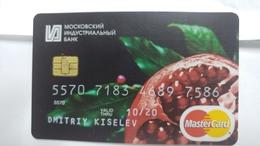 Russia-credict Card-(581)-(7586-216)-used Card+1 Card Prepiad Free - Geldkarten (Ablauf Min. 10 Jahre)