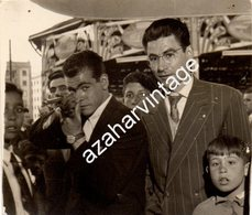 TIR A LA CARABINE PHOTO DE FOIRE FETE FORAINE STAND DE TIR MONTAGE PHOTO SURREALISME, 75X65MM - Personas Anónimos