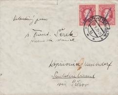 Slovaquie Lettre Pour Les Sudètes 1939 - Slovaquie