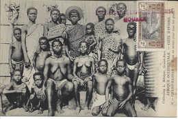 36 GRAND BASSAM, Femmes Poitrine Nue, Enfants, Hommes, CÔTE D'IVOIRE, Carte Postale Non Circulée - Ivory Coast