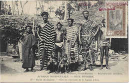 43 Bord De Lagune - Chez Les Riverains De La Lagune Ebrié, Femmes, Hommes, Enfants, Carte Postale Non Circulée - Ivory Coast