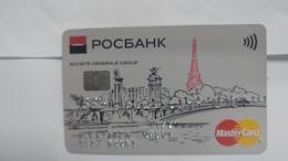 Russia-credict Card-(587)-(0707-640)-used Card+1 Card Prepiad Free - Geldkarten (Ablauf Min. 10 Jahre)