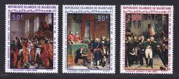 MAURITANIE AERIENS N°   85 à 87 ** MNH Neufs Sans Charnière, TB (D6852) Napoléon 1er, Bonaparte, Tableaux - Mauritanie (1960-...)