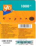 CZECH REPUBLIC - Eurotel Prepaid Card 1000 Kc(large Barcode), Used - Czech Republic