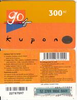 CZECH REPUBLIC - Eurotel Prepaid Card 300 Kc(large Barcode), Used - Czech Republic