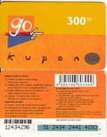 CZECH REPUBLIC - Eurotel Prepaid Card 300 Kc(small Barcode), Used - Czech Republic