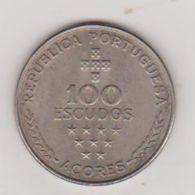 PIECE 100 ESCUDOS . REGIAO AUTONOMA DOS ACORES 1980  . M 81 . - Açores