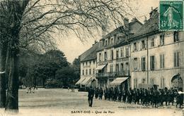 SAINT-DIE Quai Du Parc Troupes Militaires - Régiments
