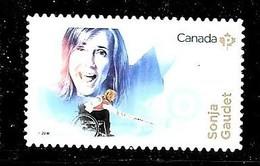 CANADA, 2018 WOMENS IN SPORT:  SONJA GAUDET, MNH - Carnets
