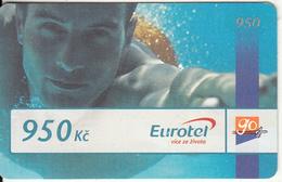 CZECH REPUBLIC - Boy, Eurotel Prepaid Card 950 Kc(large Barcode), Exp.date 31/12/07, Used - Czech Republic