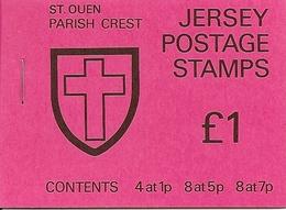 JERSEY, 1976, Booklet 26, £1, St Quen - Jersey