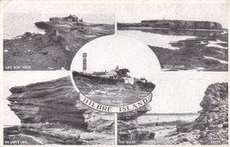 Postcard Hilbre Island Multiview PU At West Kirkby Wirral Cheshire In 1944 My Ref  B12038 - Other
