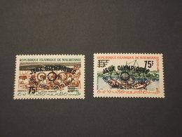 MAURITANIE - 1962 GIOCHI OLIMPICI 2 VALORI, Soprastampati - NUOVI(++) - Mauritania (1960-...)