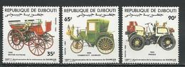 DJIBOUTI Scott 585-587 Yvert 591-593 (3) ** Cote 4,20 $ 1984 - Djibouti (1977-...)