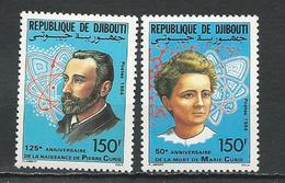 DJIBOUTI Scott 588-589 Yvert 594-595 (2) ** Cote 5,50 $ 1984 - Djibouti (1977-...)