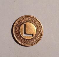 TOKEN JETON GETTONE TRASPORTO TRANSIT LOUISIANA ONE EXPREES FARE - Monetary/Of Necessity