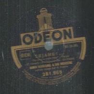 "78 Tours - RAMON MENDIZABAL  - ODEON 281969  "" DEJAME !... "" + "" LA ULTIMA NOCHE "" - 78 T - Disques Pour Gramophone"
